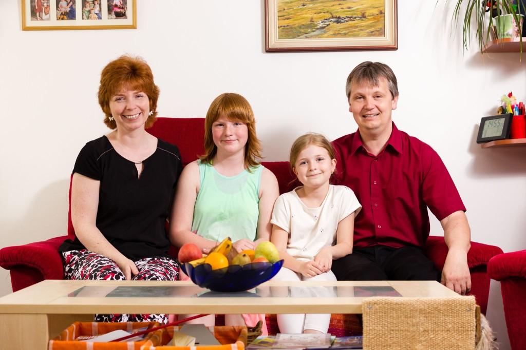 Rodinné foto Pardubice, fotograf Břetislav Válek