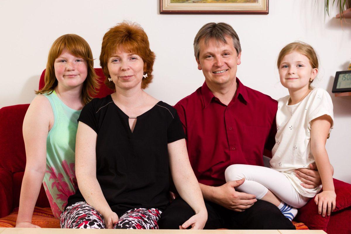 Jak jsem fotil známým fotky do rodinného alba