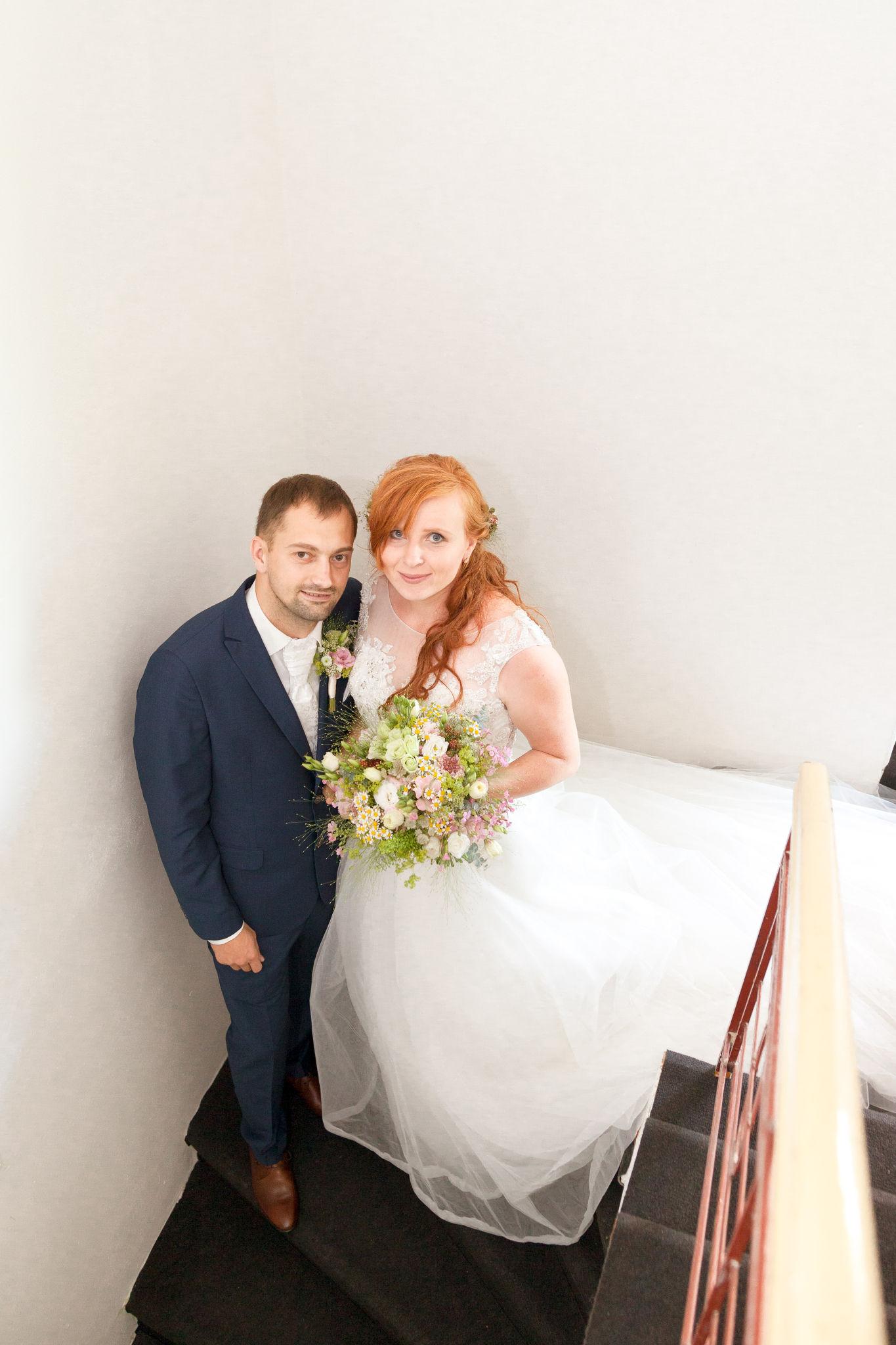 Nevěsta se ženichem, fotograf Břetislav Válek
