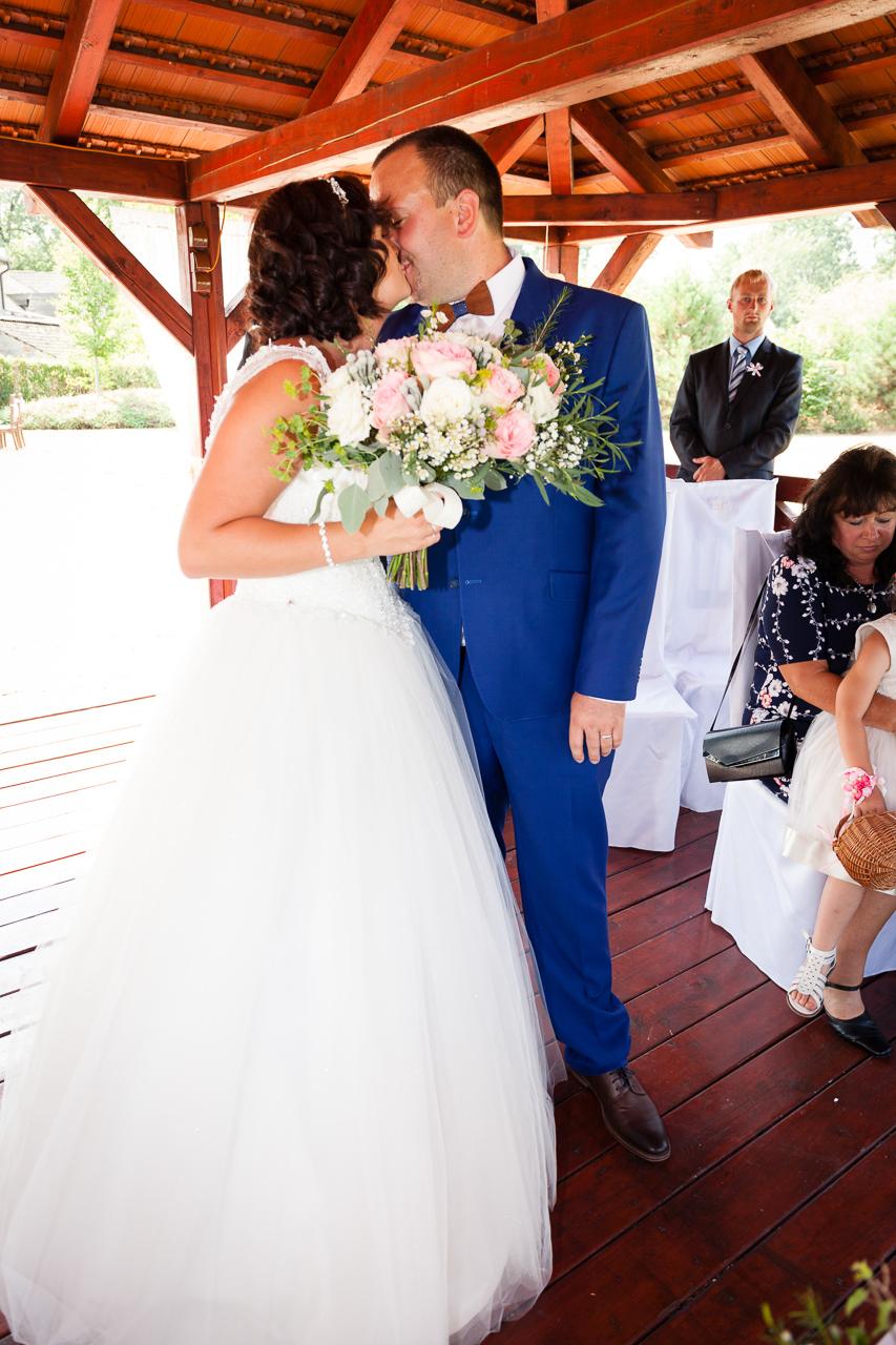 První novomanželský polibek, Dašické sklepy
