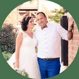 Veronika a Michal, nevěsta a ženich