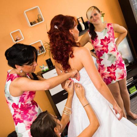 Přípravy nevěsty