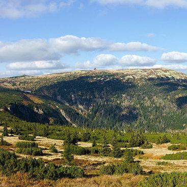 Krkonoše, panorama
