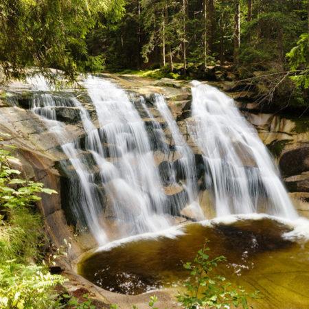 Mumlavský vodopád, Krkonoše