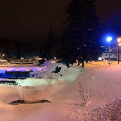 Špindlerův Mlýn v zimě