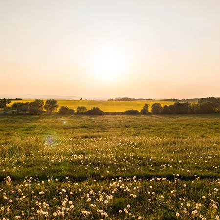 Západ slunce, Železné hory
