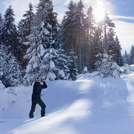 Zimní Orlické hory