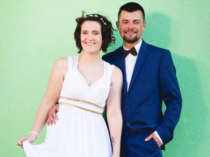 Denisa, Lukáš, svatba