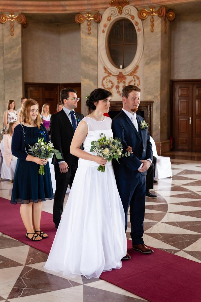 Nevěsta a ženich, Karlova Koruna, Chlumec nad Cidlinou