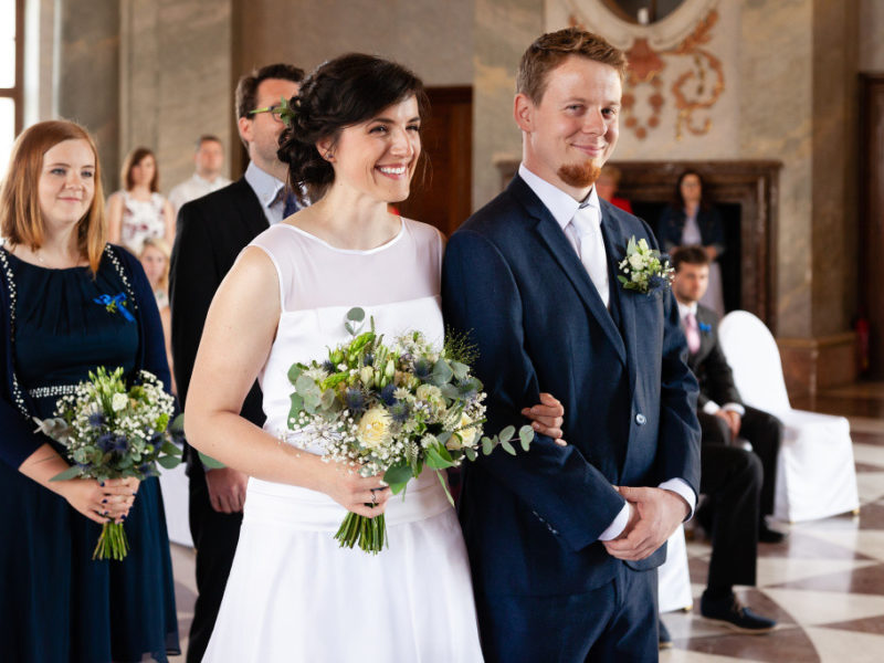 Svatba Jany a Radka, Mramorový sál, Karlova Koruna
