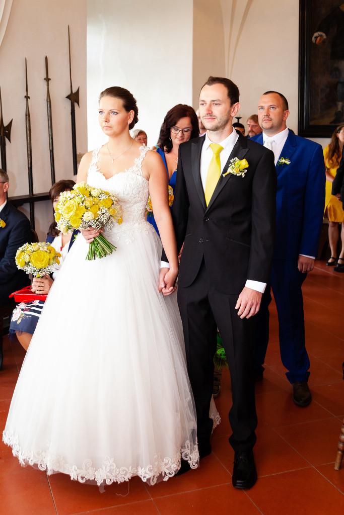 Svatební obřad na Kunětické hoře