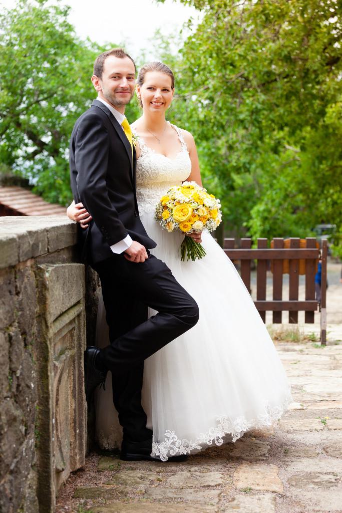 Portrét nevěsty a ženicha