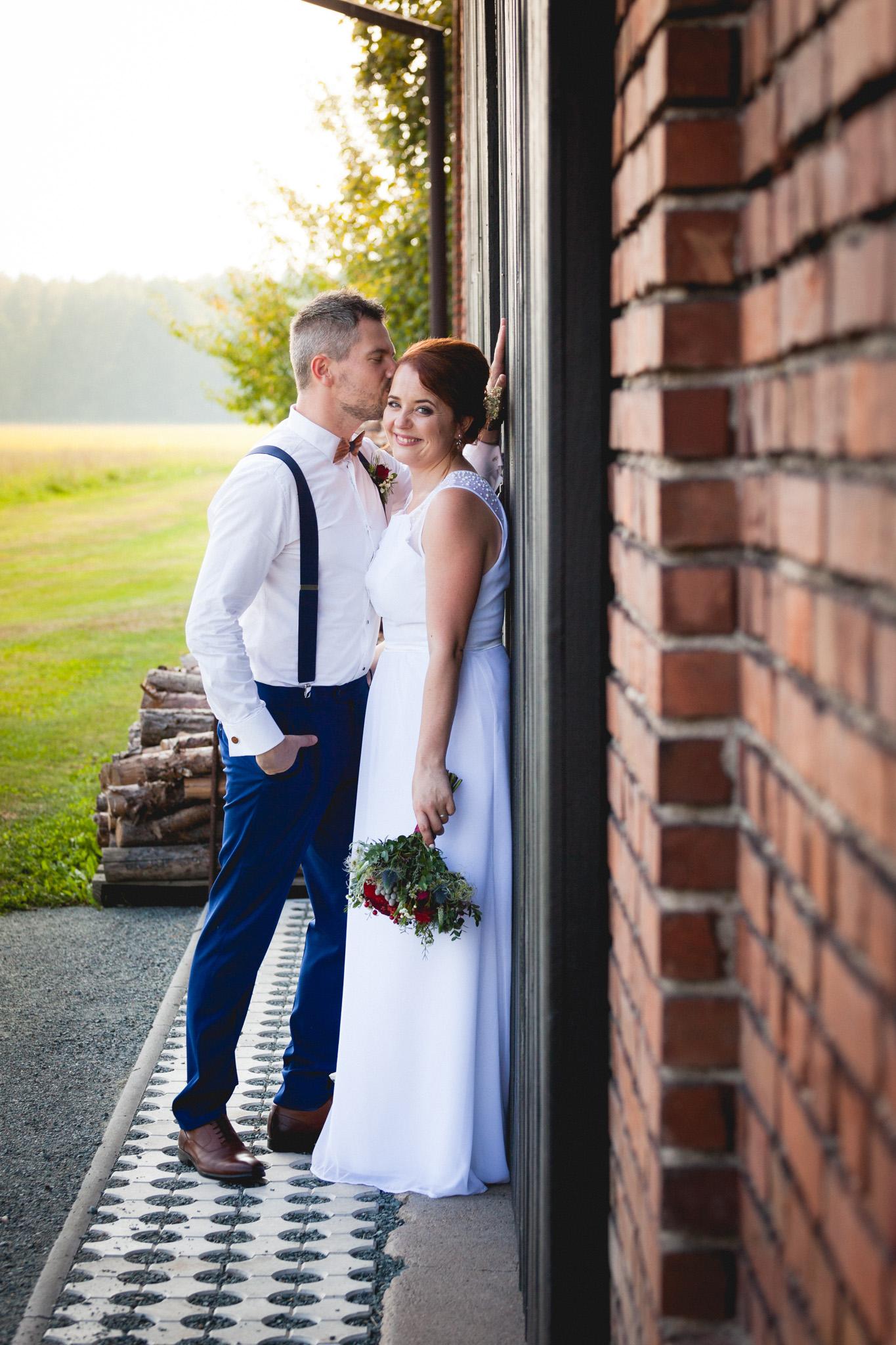Svatební portrétování
