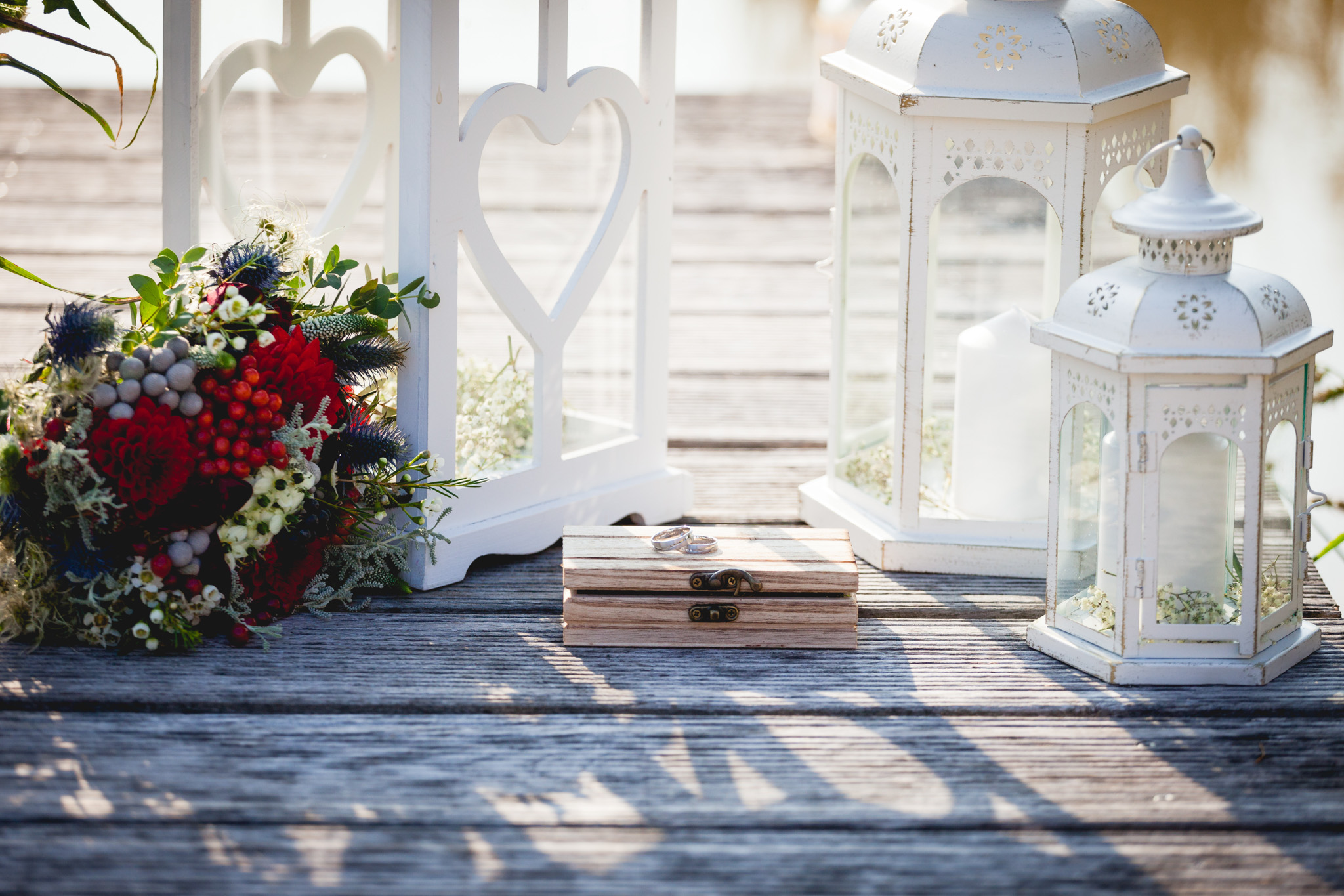 Svatební prstýnky, detail
