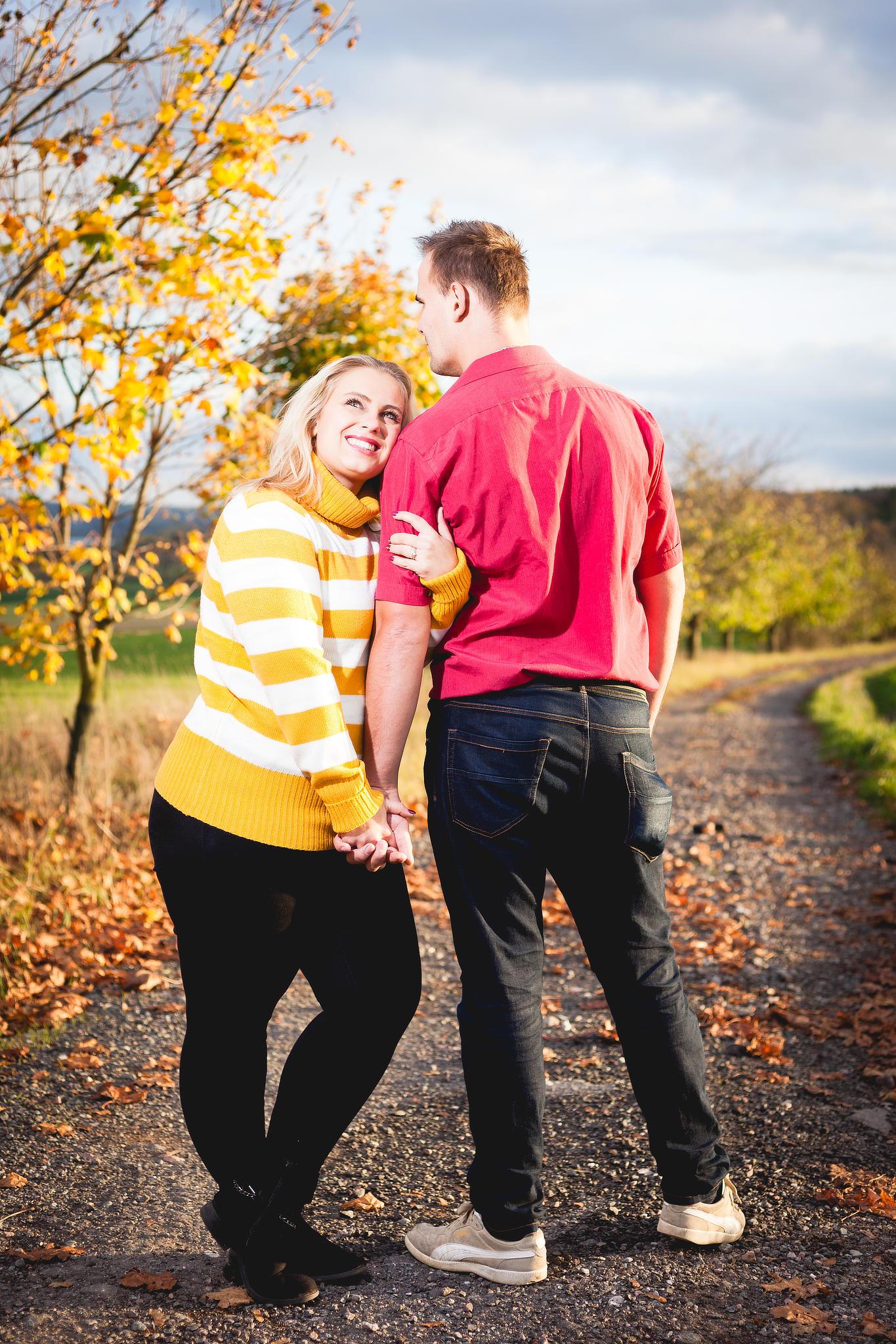 Podzimní portrét manželů
