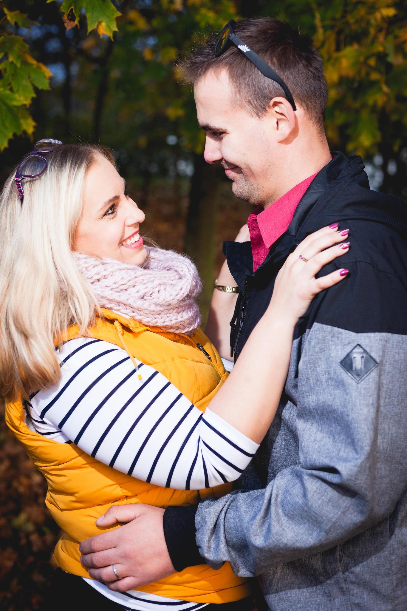 Podzimní manželský portrét