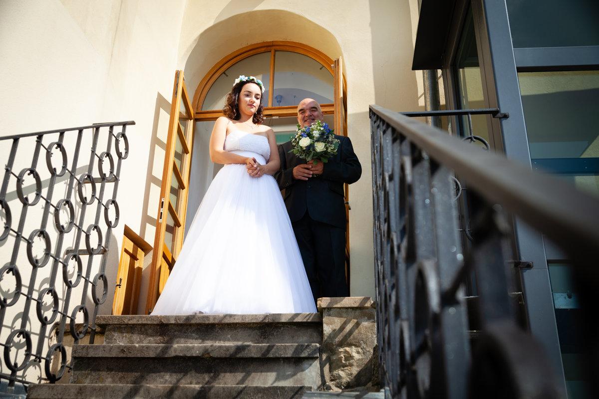 Nevěsta čeká na obřad