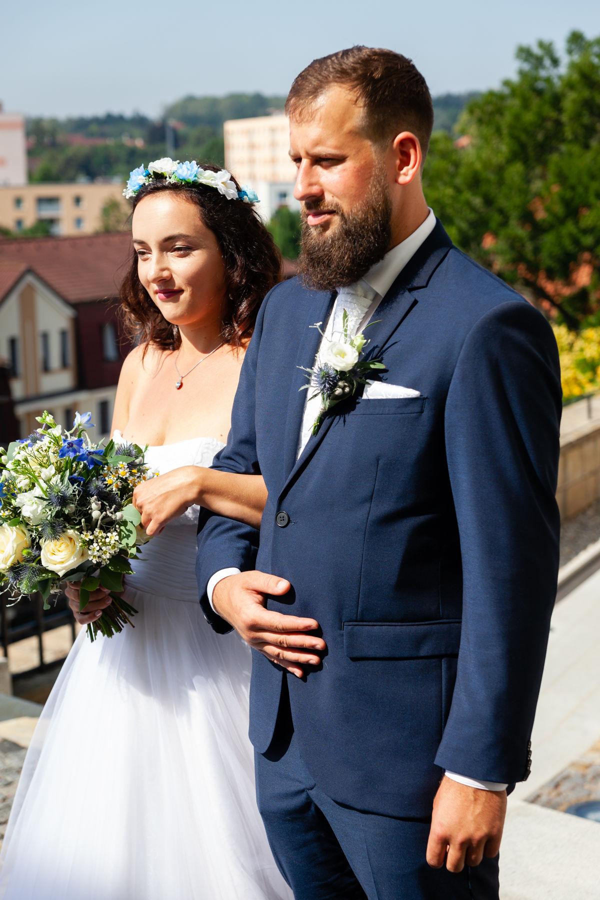 Nevěsta se ženichem, muzeum loutek, Chrudim