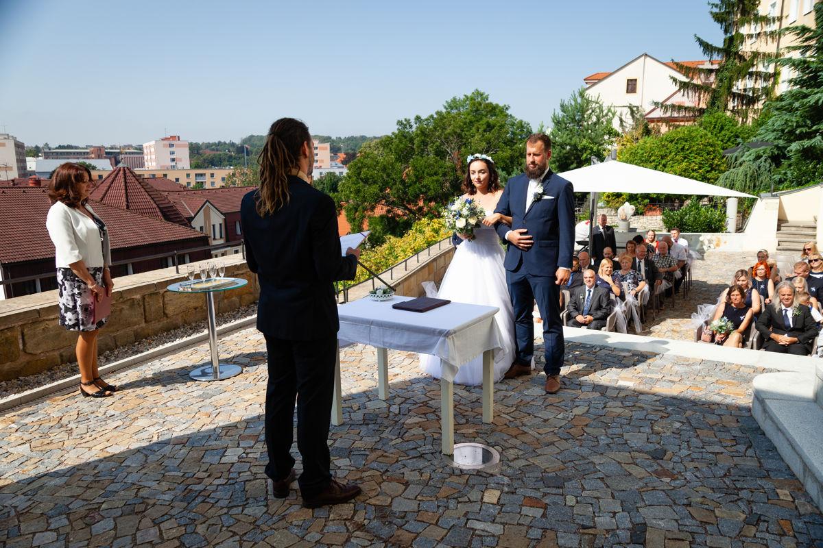 Svatební obřad, muzeum loutek, Chrudim