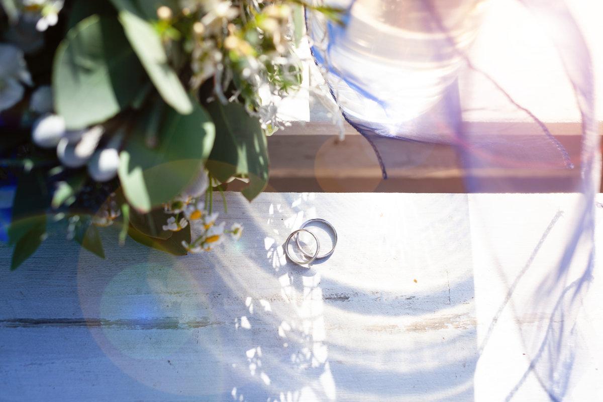 Detail, svatební prstýnky