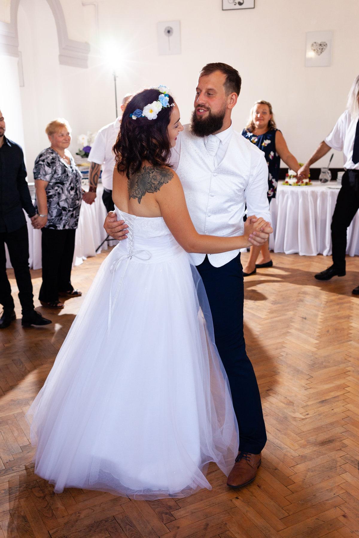 První tanec nevěsty ženicha