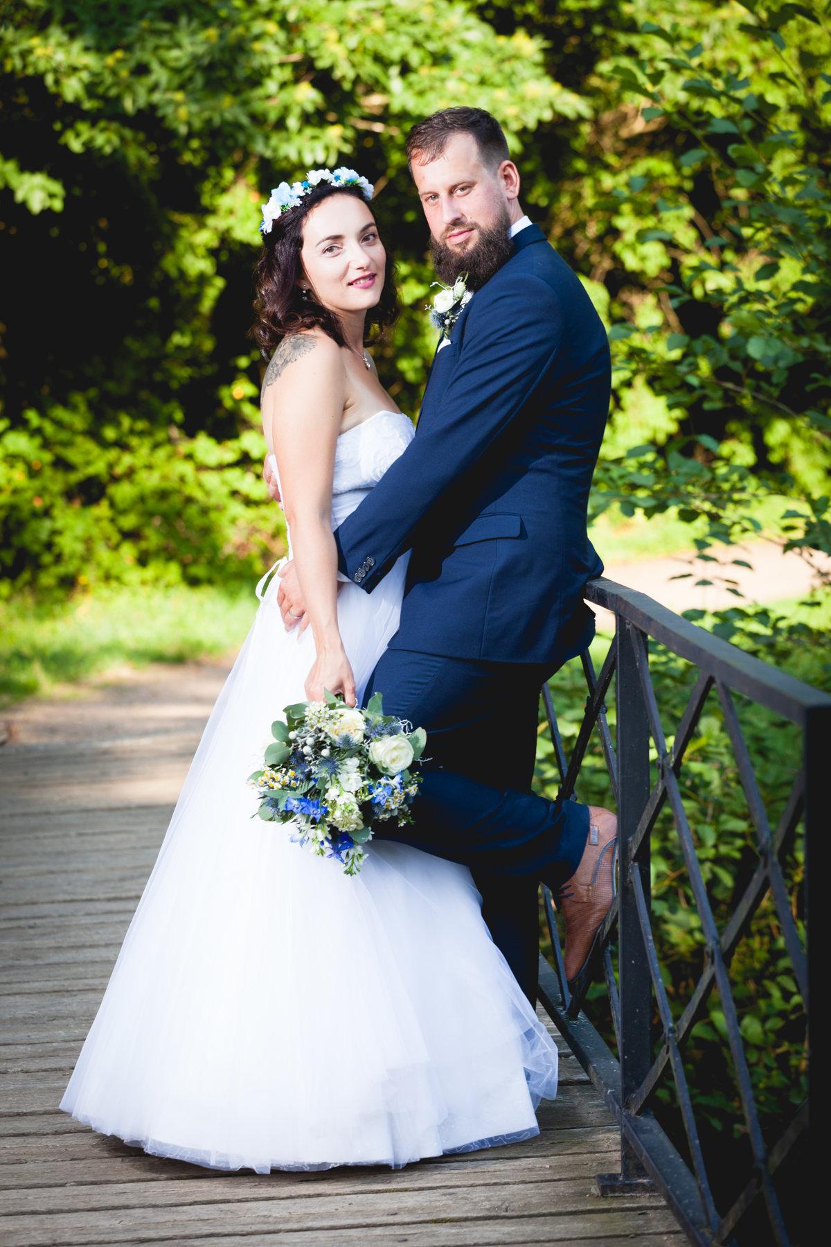 Svatební portrét, zámek Choltice