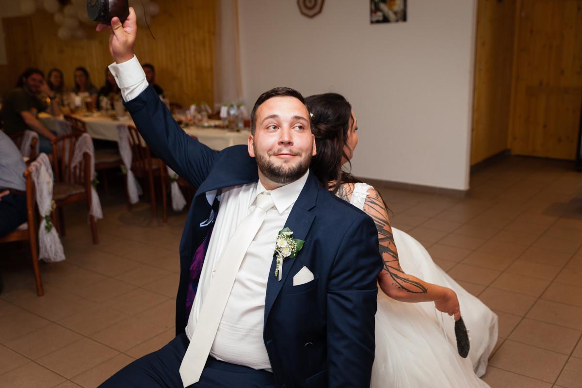 Svatební hra, ženich