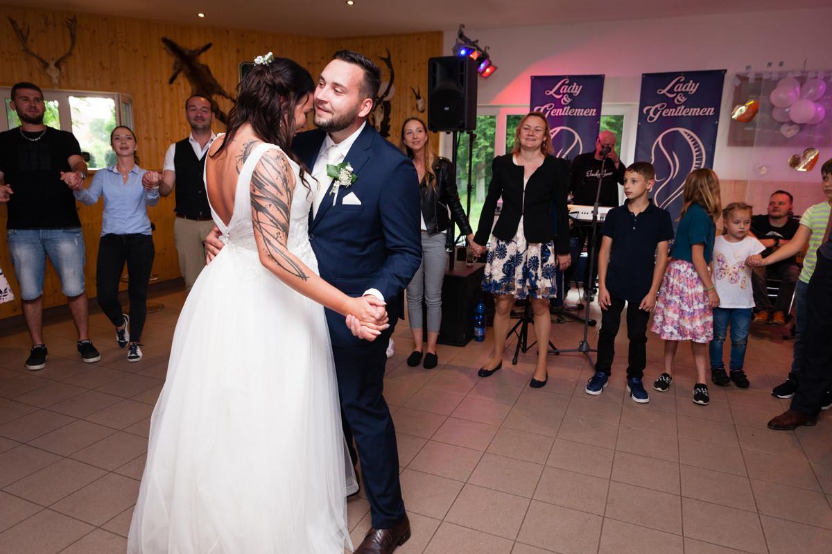 První novomanželský tanec, svatba