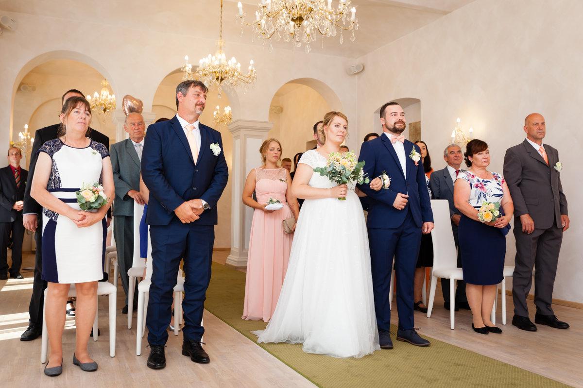 Svatební obřad, Pardubice