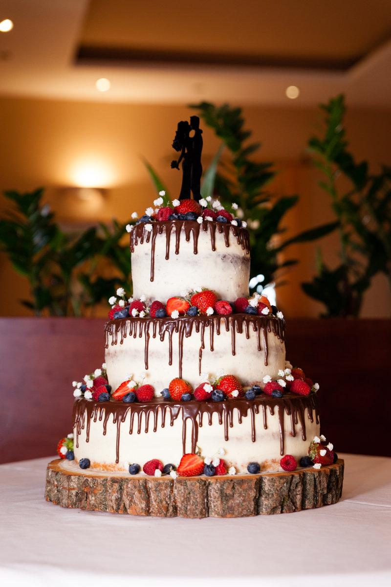 Svatební dort, detail