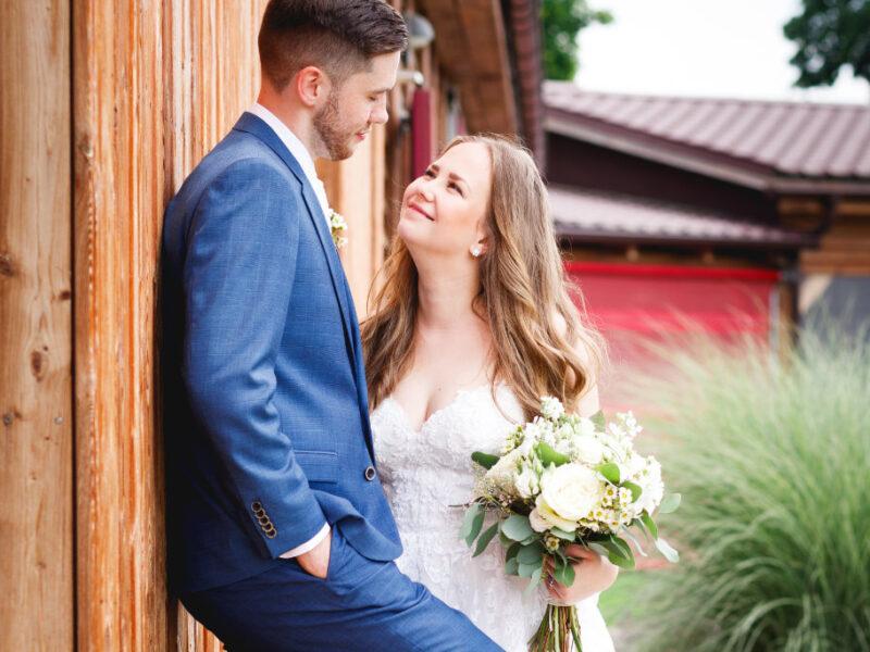 Anička a David, svatba