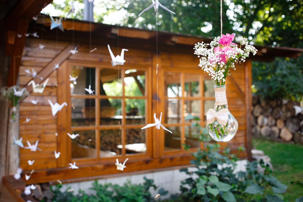 Svatební dekorace, Restaurace Obora, Trpišov