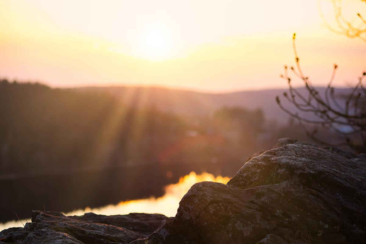 Západ slunce, Oheb, Seč