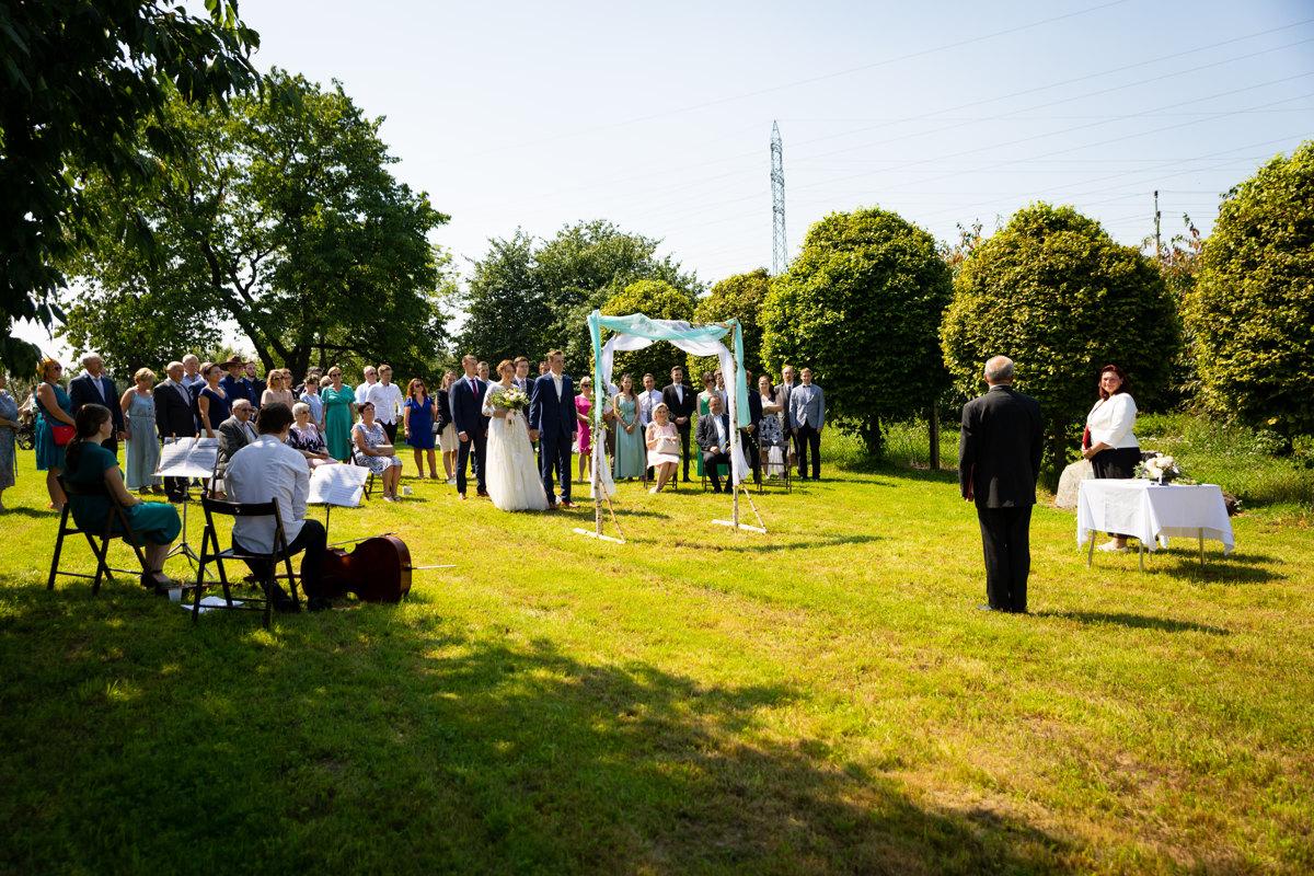 Svatební obřad, Horní Raškovice